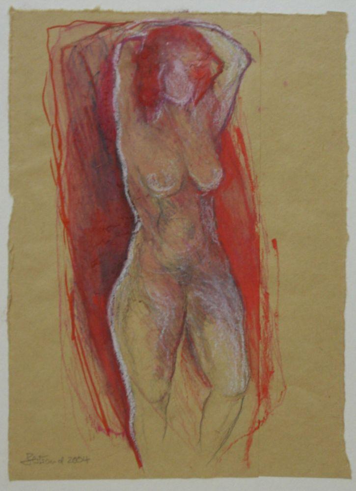 o.T. Buntstift 25x18cm