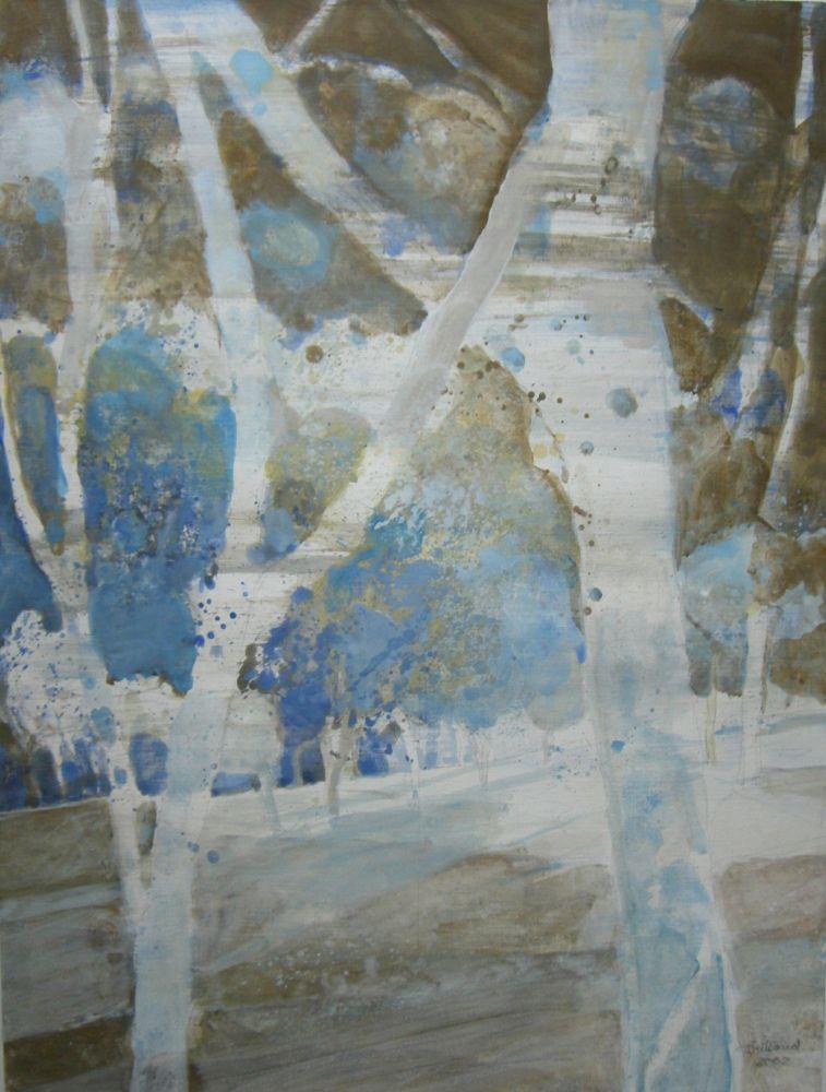 """Lichter Wald"" Acryl  56x42cm"