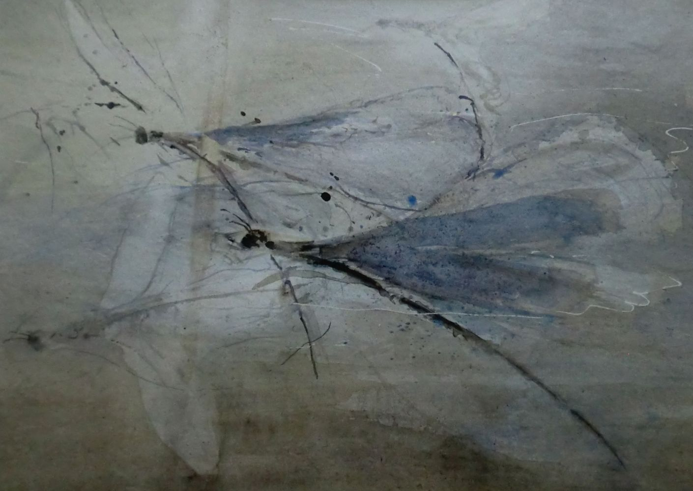 """Insektenwelt"" (3) Aquarell 30x41cm"